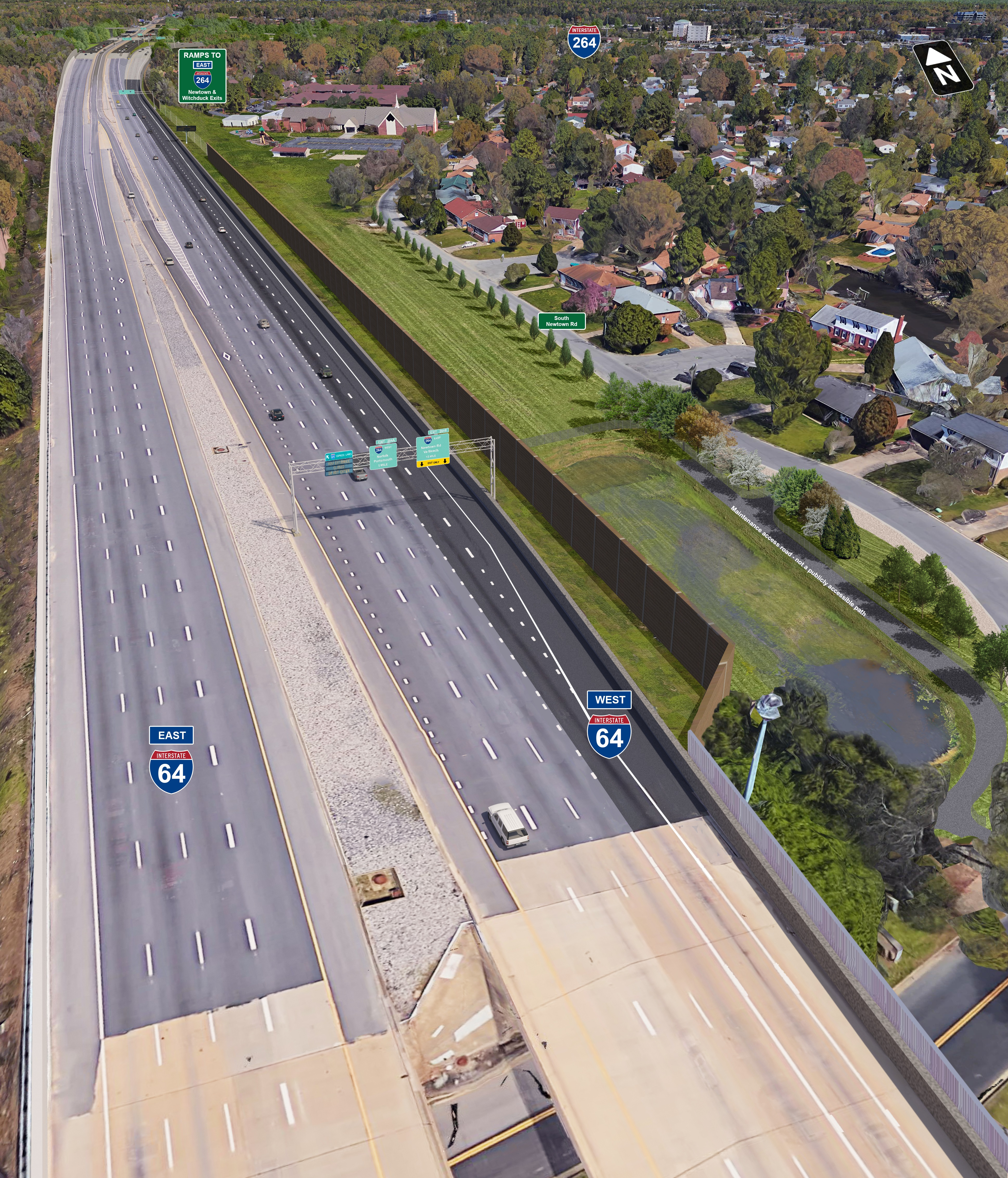 I-64/I-264 Interchange Improvements